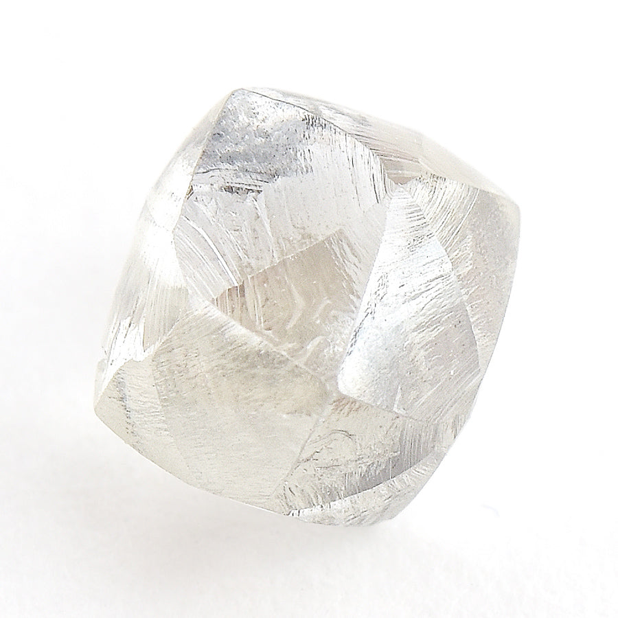 1.72 carat breathtaking and large rough diamond dodecahedron