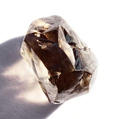 1.79 carat coffee brown rough diamond freeform crystal Raw Diamond South Africa
