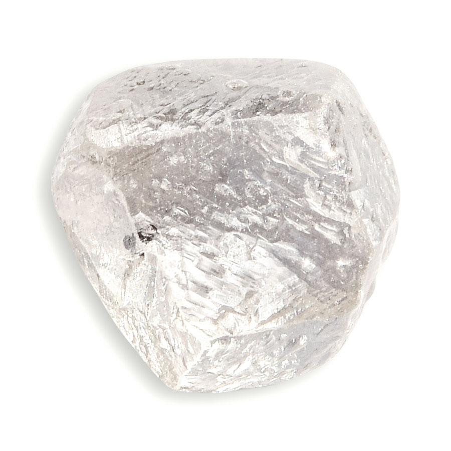 2.10 carat light champagne rough diamond dodecahedron Raw Diamond South Africa
