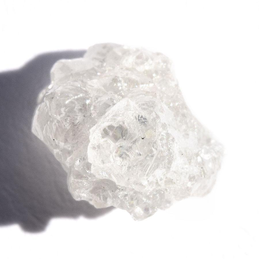 2.26 carat white rough diamond freeform crystal Raw Diamond South Africa