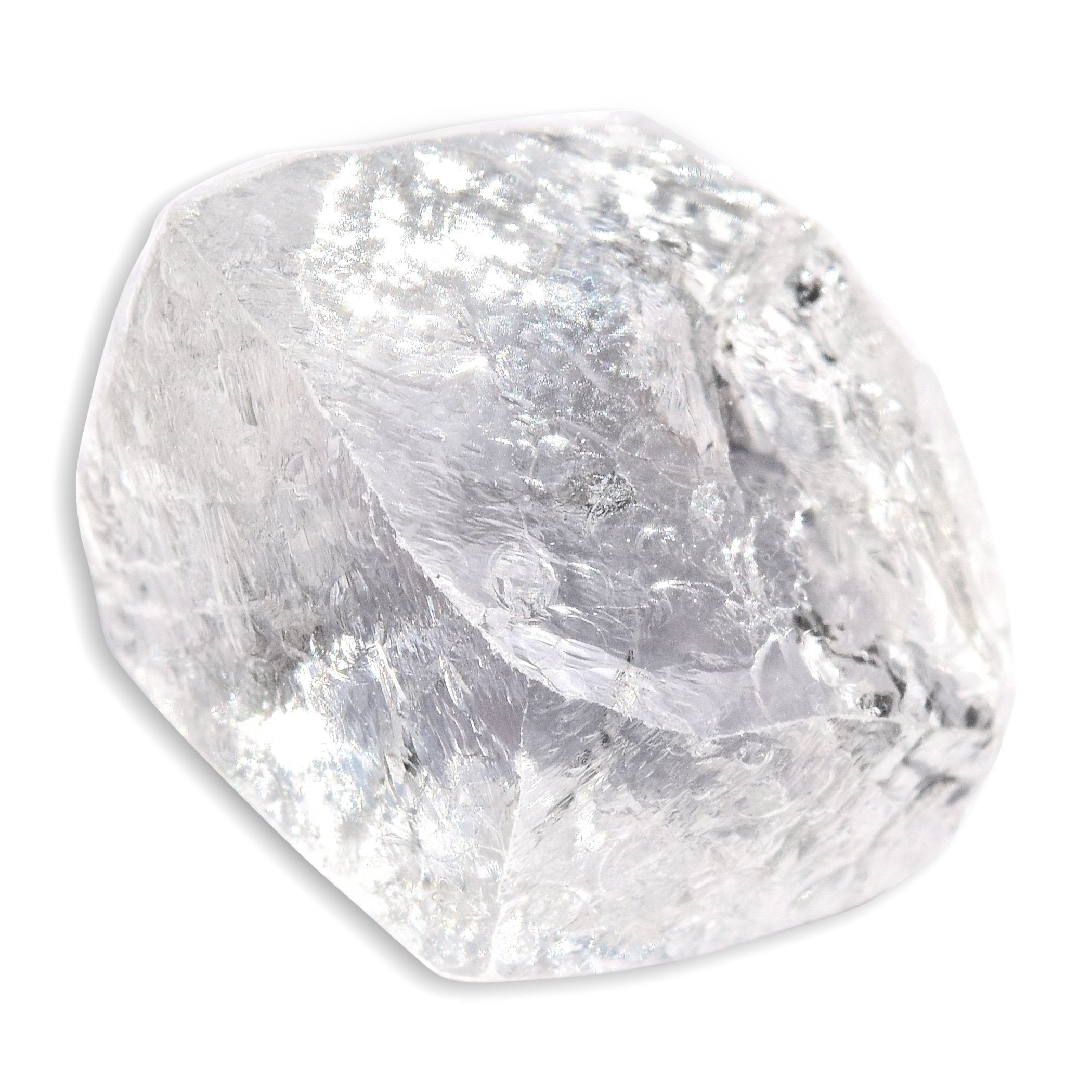 2.47 carat flat and smooth rough diamond freeform stone Raw Diamond South Africa