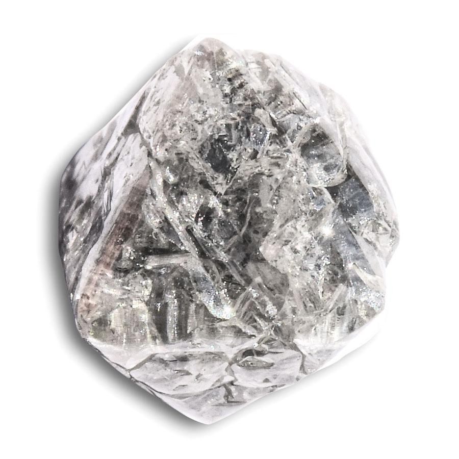 2.62 carat salt and pepper rough diamond octahedron Raw Diamond South Africa