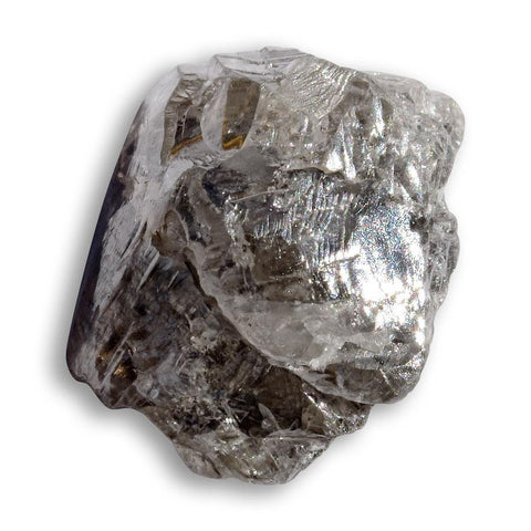 1.16 carat rounded freeform-shaped rough diamond