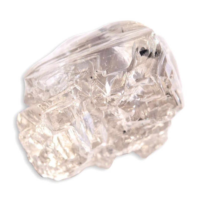 3.56 carat pink champagne rough diamond freeform maccle Raw Diamond South Africa