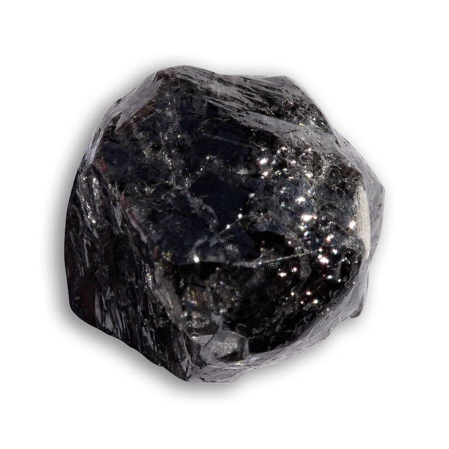 3.64 carat black rough diamond crystal Raw Diamond South Africa