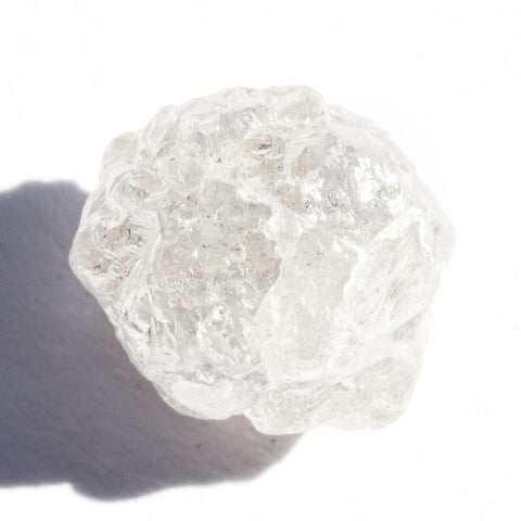 3.80 carat white rough diamond crystal Raw Diamond South Africa