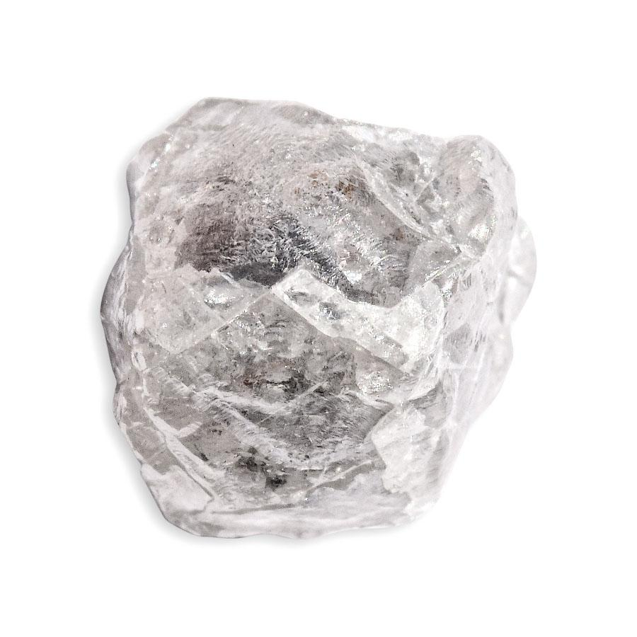 3.90 carat white rough diamond cube Raw Diamond South Africa