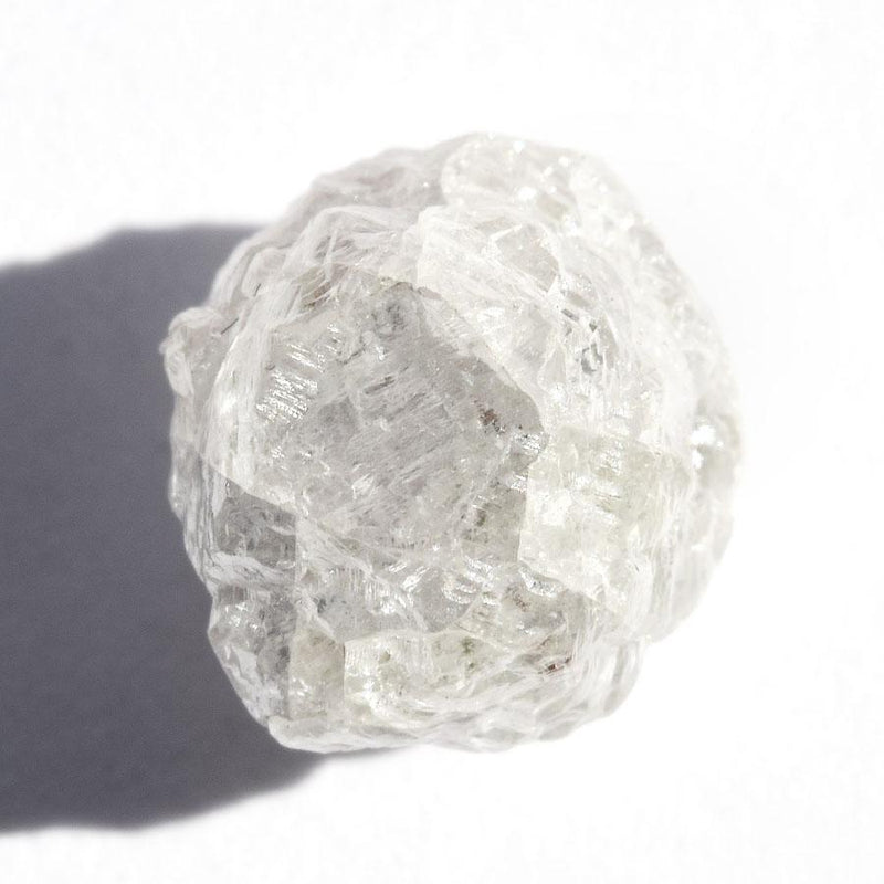 4.54 carat cream colored rough diamond round or sphere Raw Diamond South Africa