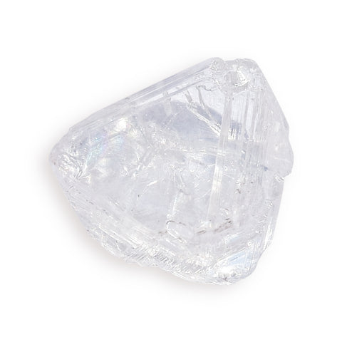 1.17 carat breathtaking and open-faced rough diamond maccle