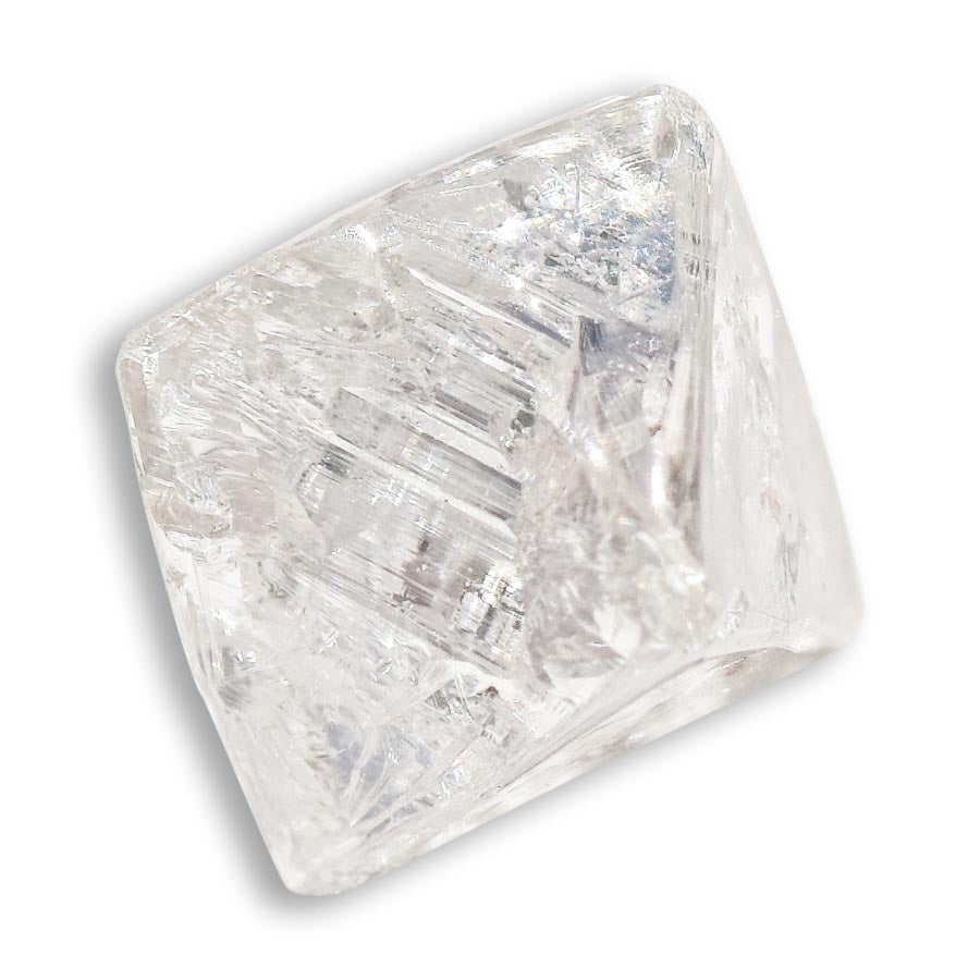 SALE 1.76 carat sharp and smooth rough diamond octahedron