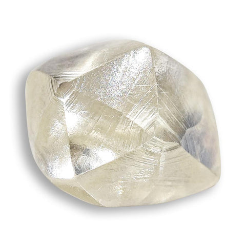 1.53 carat smoky cognac rough diamond freeform crystal