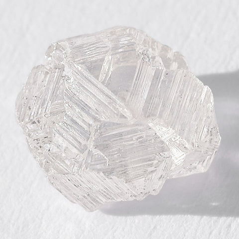 1.70 carat unbelievably beautiful freeform raw diamond