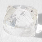 0.86 carat lovely and clear dodecaheddral rough diamond