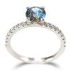 Lukot Ring - A four-pronged sapphire engagement ring