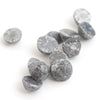 0.50 carat sliced round rough diamonds - black. **We pick one piece from this parcel for you!!**