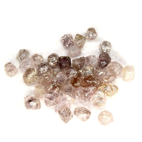 Pink and purple rough diamond parcel, average 0.20 carats - WE PICK ONE PIECE FROM THIS PARCEL FOR YOU Raw Diamond South Africa