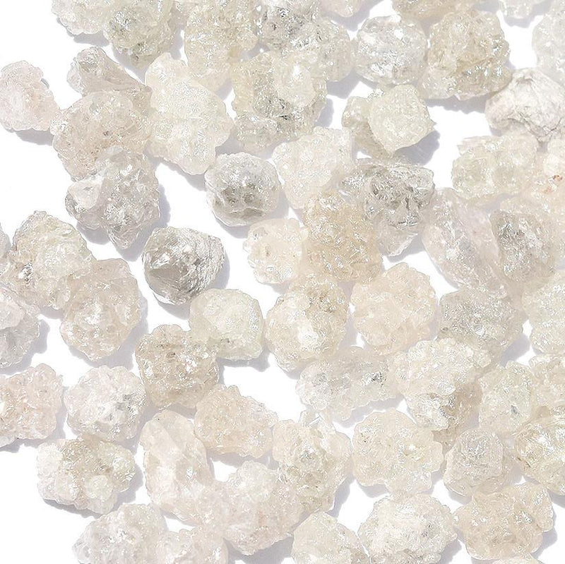 Rough diamond crystals - white and sparkly - we pick one piece from the parcel for you - Average 1.25 carat each Raw Diamond South Africa