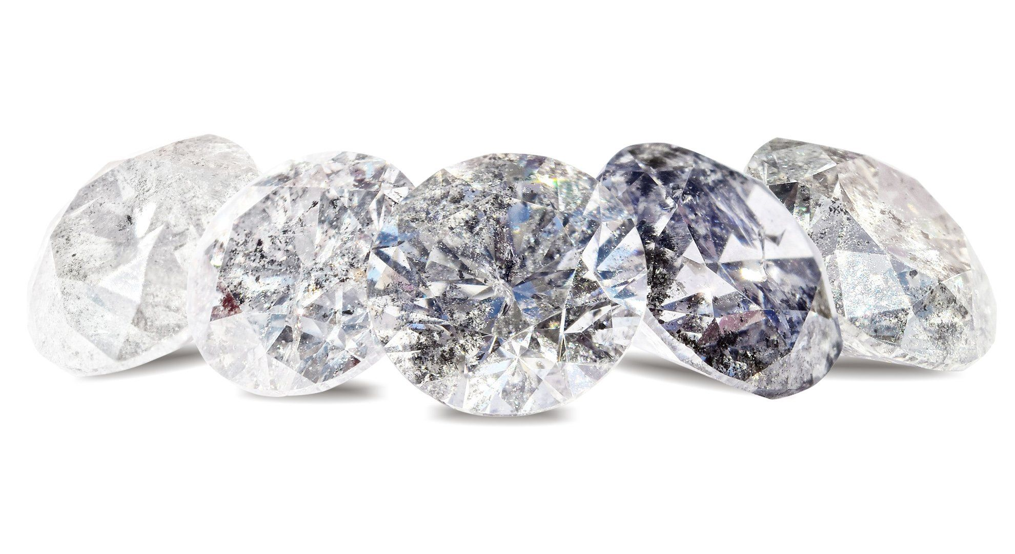 Responsibly sourced and traceable cut diamonds