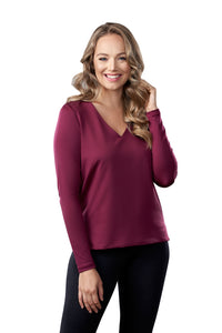 The Classic Long Sleeve V-Neck