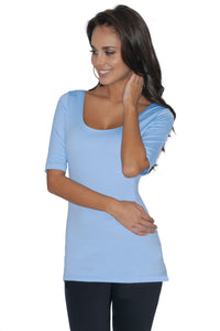 The Ballet 3/4 Sleeve Tunic
