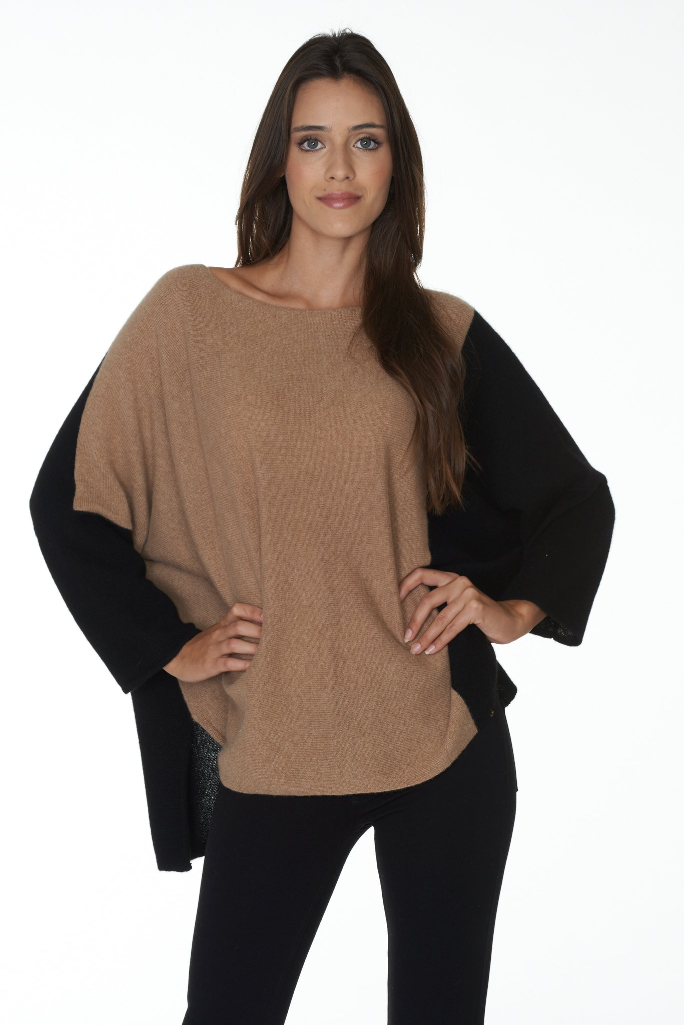 The Colorblock Dolman