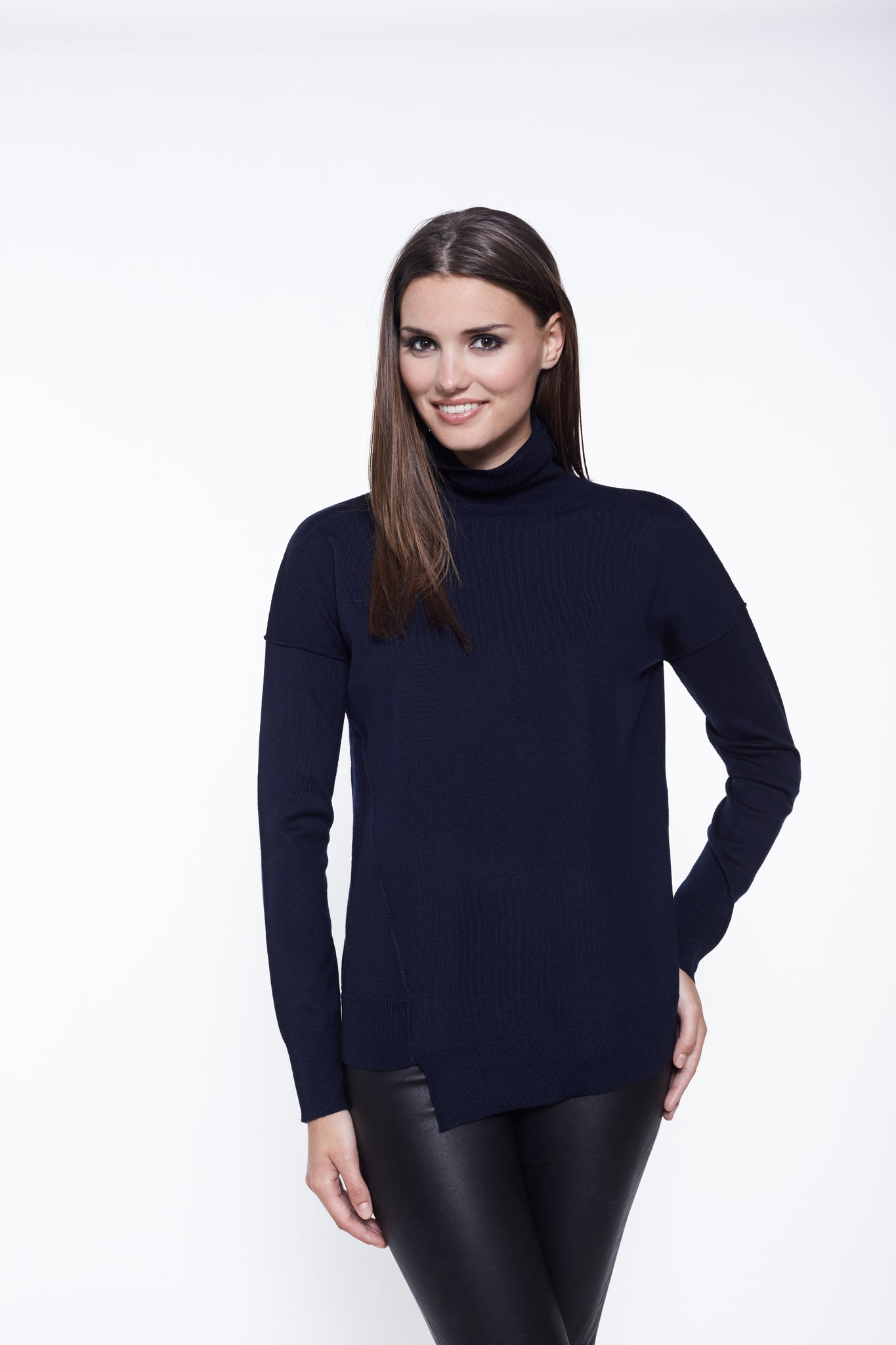 The Asymmetrical Turtleneck