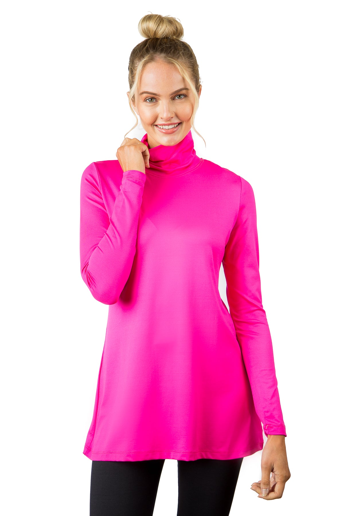 LIMITED COLORS: The Turtleneck Tunic