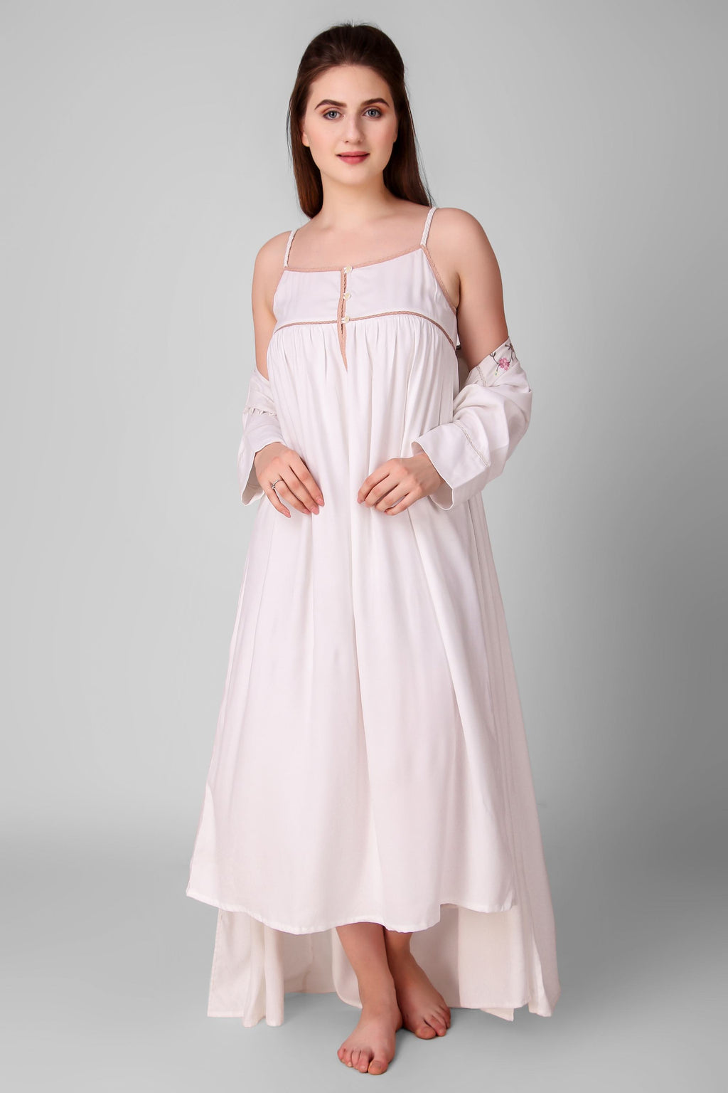 Louisa, Nightdress with Gown