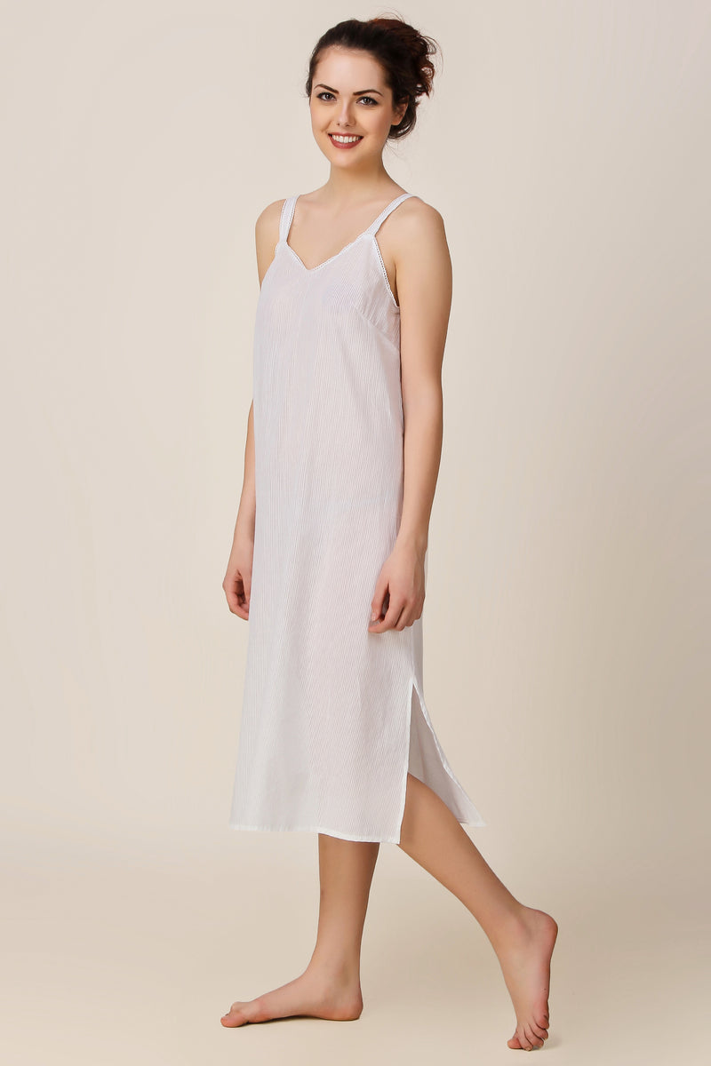 White Slip-Long