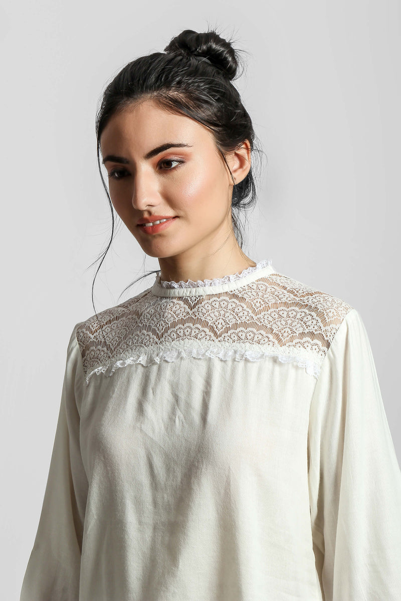 Ambi, Embroidered Night Gown/Robe