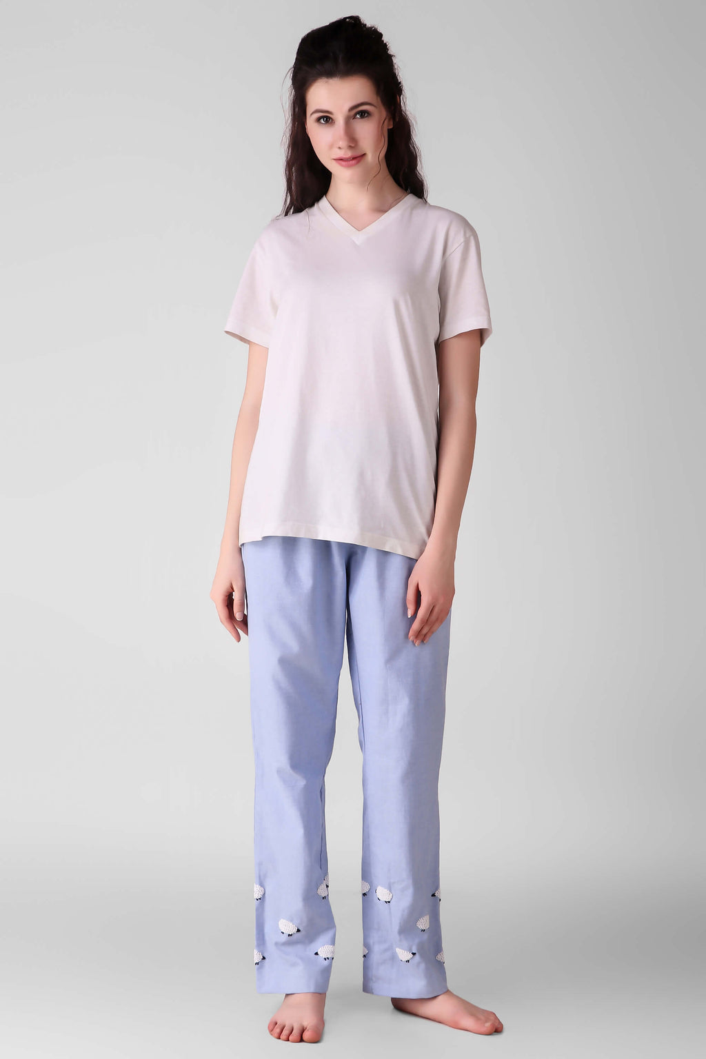 Lazy Sheep, Unisex Pyjamas