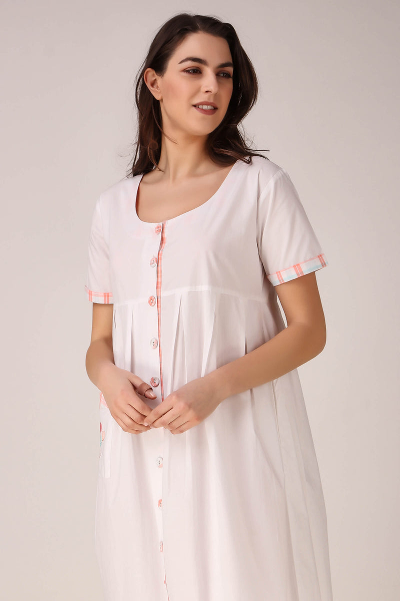 Balloons, Pleated Nightdress
