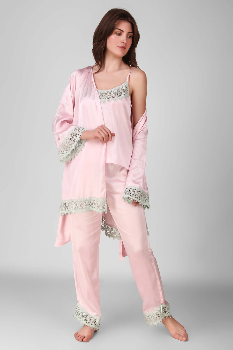 Yala, Pyjama Suit with Gown