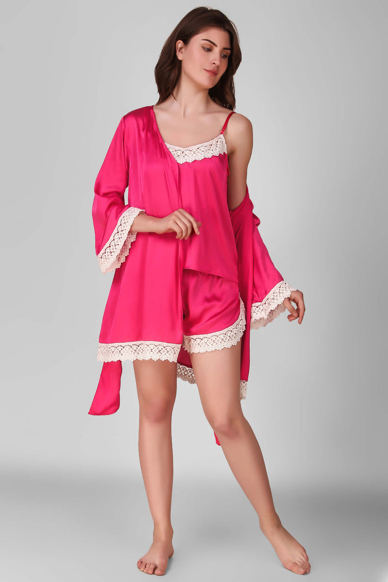 Yala, Shorts Set with Gown