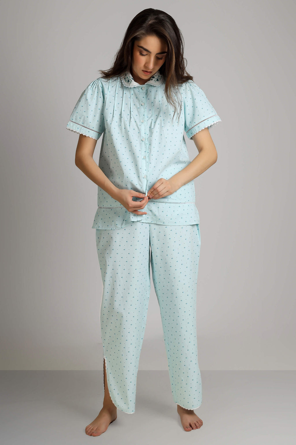 Agatha, Full Sleeve Nightdress