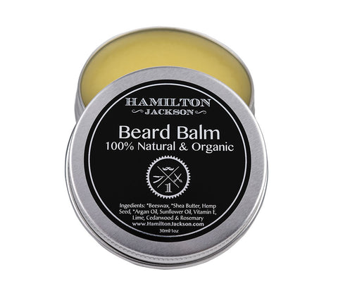 No1 Beard Balm Fresh Scent Lime and Cedarwood Handcrafted 100% Natural