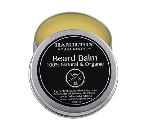 No2 Beard Balm Cedarwood, Lemon and Patchouli  Scent Handcrafted 100% Natural