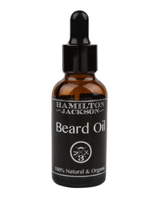 No3 Beard Oil - Fresh Scent - Lime Ginger and Cedarwood 100% Natural