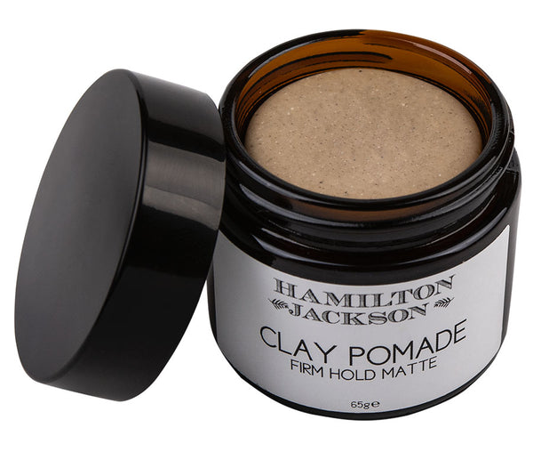 Clay Pomade Firm Hold Matte 100% Natural