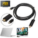 1,8 Mt/6FT 1080 p Thunderbolt Displayport Mini Display Port DP auf HDMI Stecker Adapter kabel Für Apple Macbook Mac Air