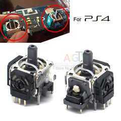 2pcs 3D Analog Joystick for PS4 Caps 3Pin Sensor Module Potentiometer for Playstation 4 PS4 Controller Replacement 3D Axis