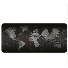 5 Størrelse Utvidet Stor Anti-Slip Laptop Datamaskin Tastatur World Map Mus Mat Desktop Pad Mats World Mat Musematte P0.11 Yinkuu