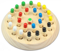 BOHS Wooden Memory Match Stick Chess Game Educational Toy Brinquedo