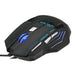 Computer Tilbehør Cool 5500 DPI 7 Button LED Optisk USB Wired Gaming Mouse Mus For Pro Gamer