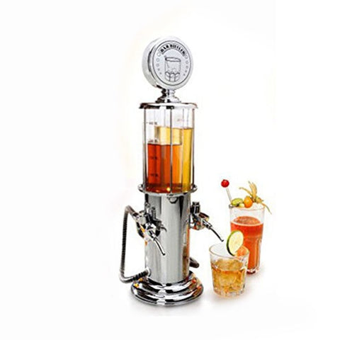 Double Drink Dispenser for Table (2 x 450 mL)
