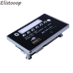 Elistooop USB FM Aux Radio MP3-spiller Integrert Bil USB Bluetooth Håndfri MP3 Dekoder Board Modul Fjernkontroll for bil