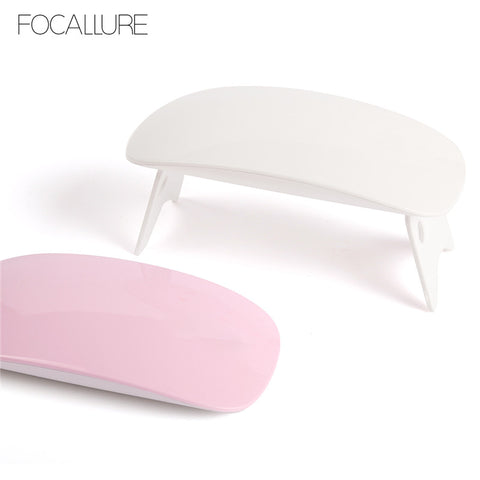 FOCALLURE SUNMINI 6W UV LED-lampe Nail Dryer Bærbar USB-kabel for Primer Home Use Gel Nail Polish Dryer