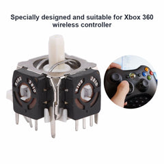 5 stk. Analog Stick 3D Joystick-erstatning for Xbox 360 Wireless Controller