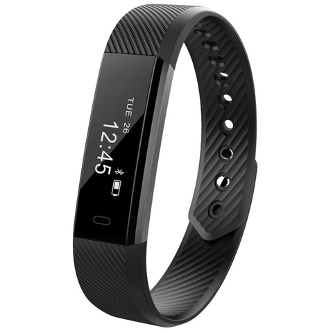 Bluetooth Smartwatch med pedometer for iOS og Android