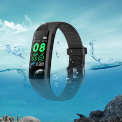 IP68 Vanntett Smart Bracelet Pedometer Hjertefrekvensmåler Blood Oxygen Fitness Tracker Smart Wristband Multi Sport Smart Band